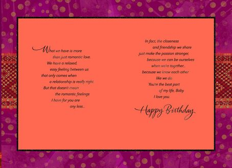 Our Love Is Special Birthday Card Greeting Cards Hallmark – Birthday Card with Love