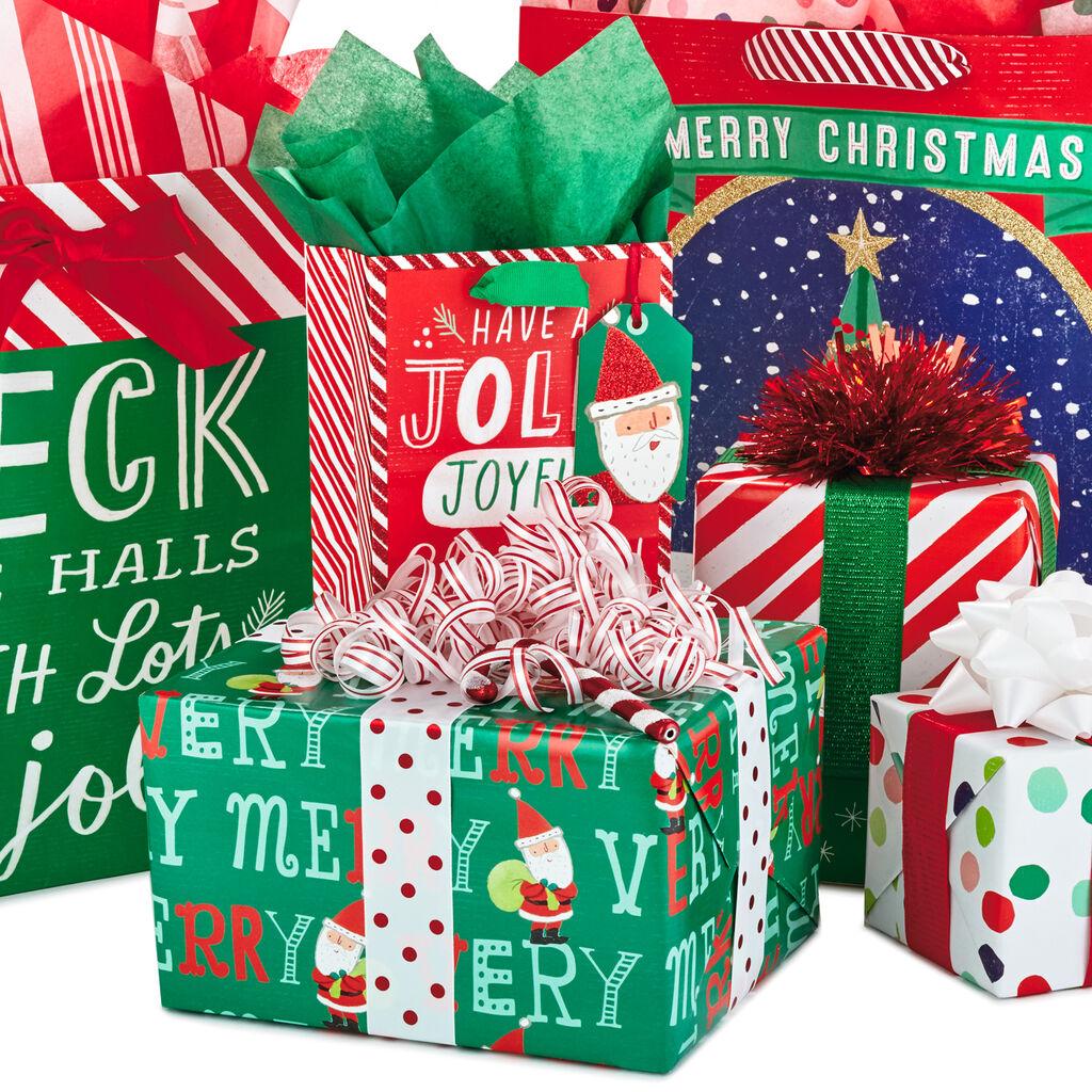 Shop Whimsy Christmas Gift Wrap Style - Gift Bags - Hallmark