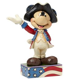 Jim Shore® American Patriot Mickey Mouse Figurine, , large