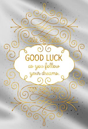 Someplace Great Good Luck Card