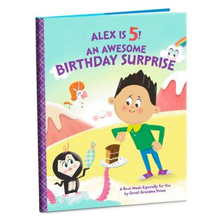 Birthday Surprise Personalized Book,