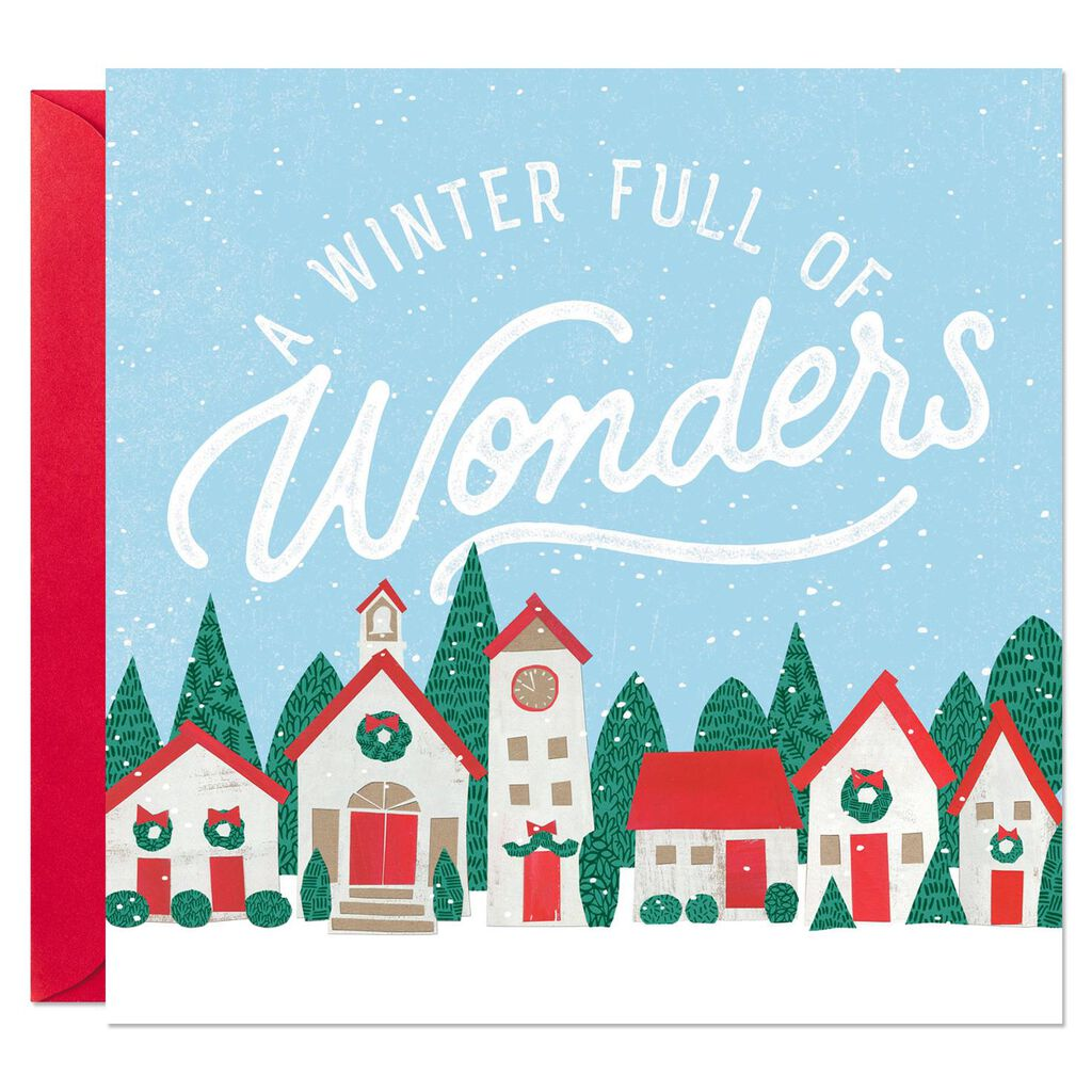 Winter Full of Wonders Musical Christmas Card - Greeting Cards ...