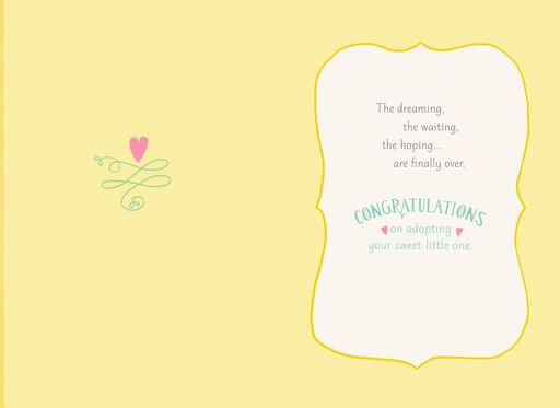 You Belong Together Congratulations on Adoption Card,