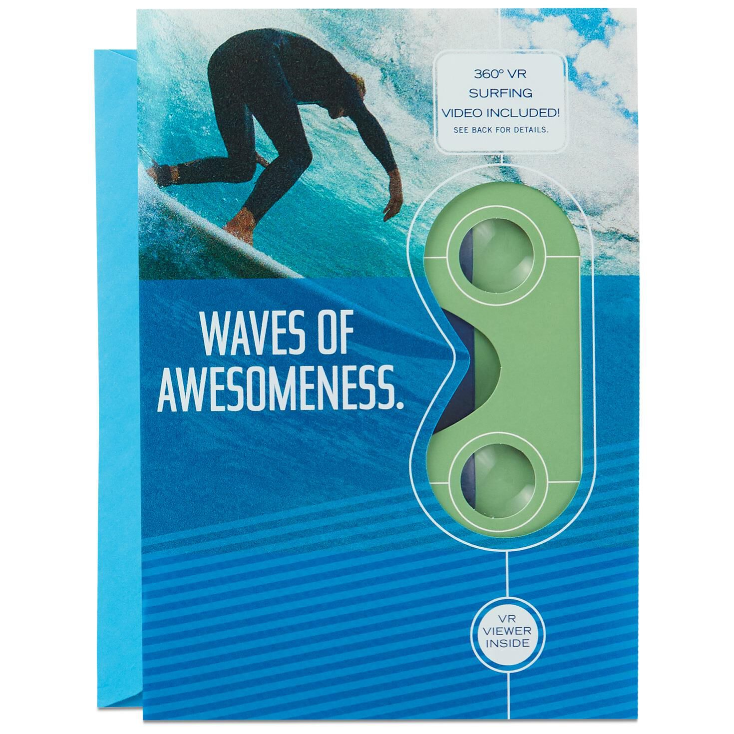 Surfing VR Father's Day Card - Greeting Cards - Hallmark