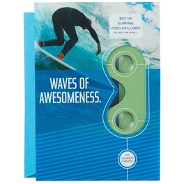 Surfing VR Father's Day Card, , large