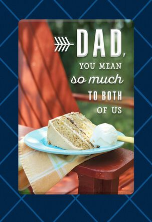 You Mean So Much to Us, Dad Birthday Card