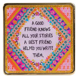 Natural Life Glitter and Gold Keepsake Best Friend Stories, , large