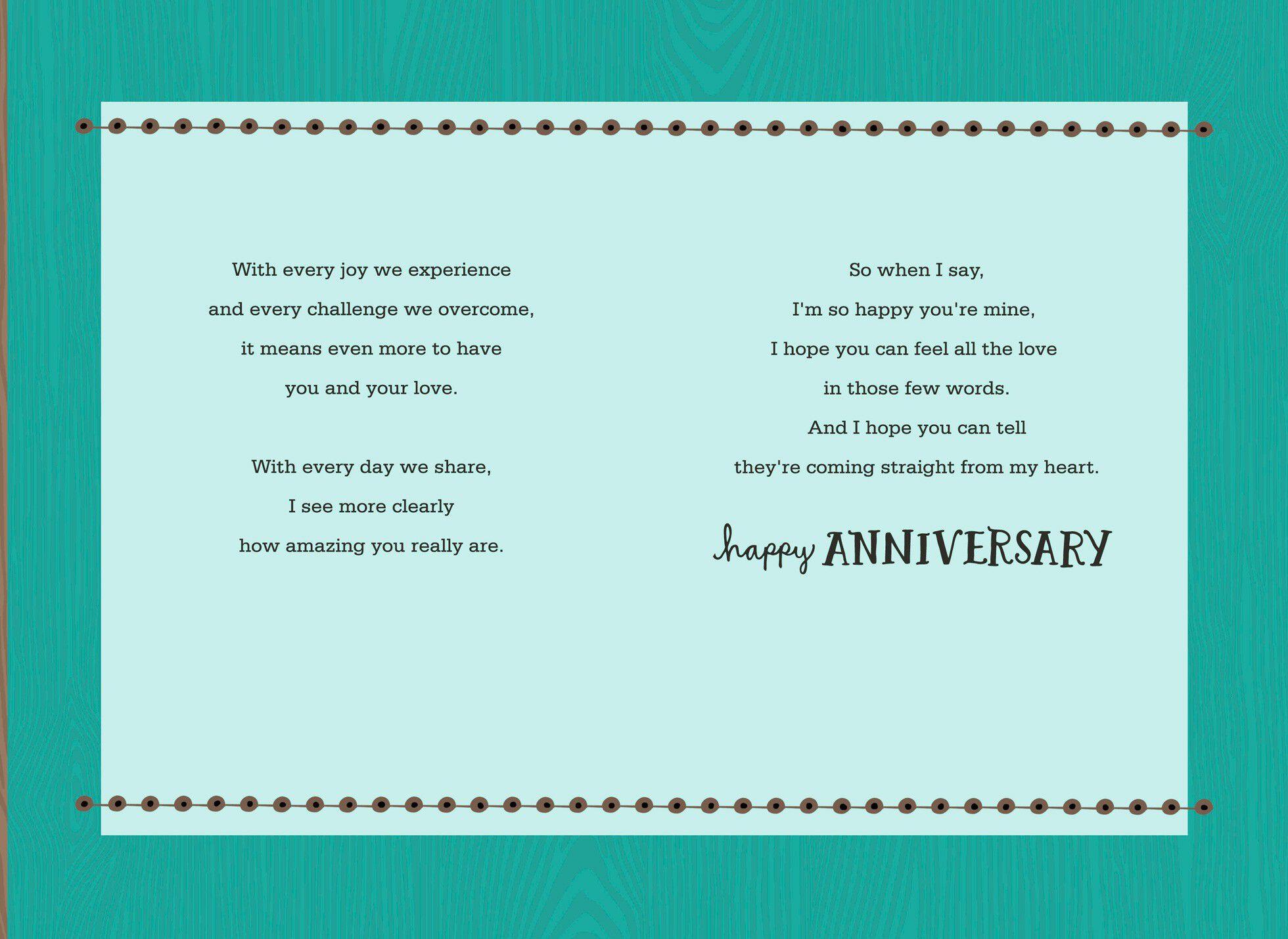 Hallmark Wedding Anniversary Gifts: All Anniversary