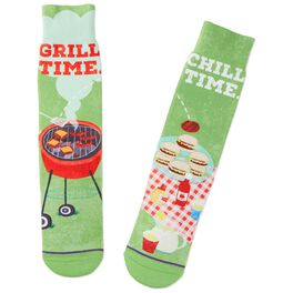 BBQ Grill and Chill Toe of a Kind Socks, , large