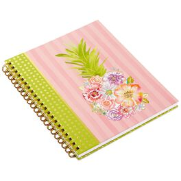 Haute Girls™ Paradise Floral Pineapple Spiral Notebook, , large