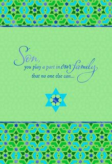 A Fine Son Passover Card,