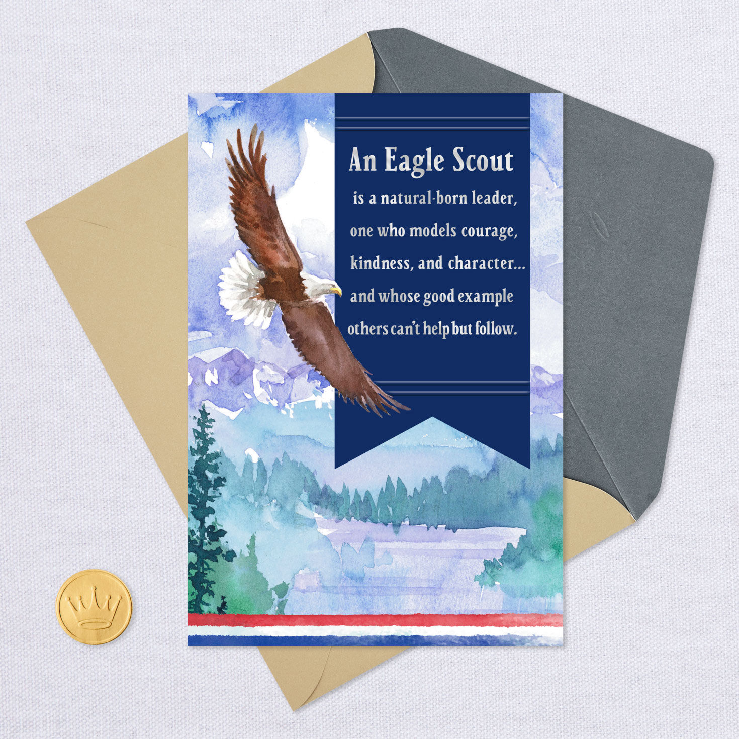photograph about Eagle Scout Congratulations Card Printable titled A Design of Temperament Eagle Scout Congratulations Card