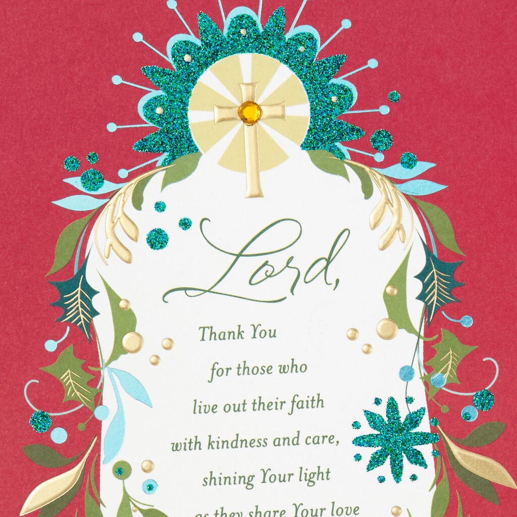 Religious Christmas Card Designs.You Are A Blessing In The Lord S Service Religious Christmas Card