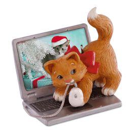Mischievous Kittens Computer Mouse Ornament, , large