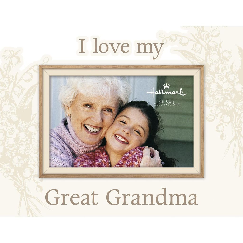 I Love My Great Grandma Malden Picture Frame, 4x6 - Picture Frames ...