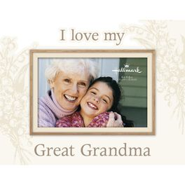 I Love My Great Grandma Malden Picture Frame, 4x6, , large
