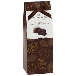 Milk Chocolate Fudge Truffles in Gift Box, 6.5 oz., , large