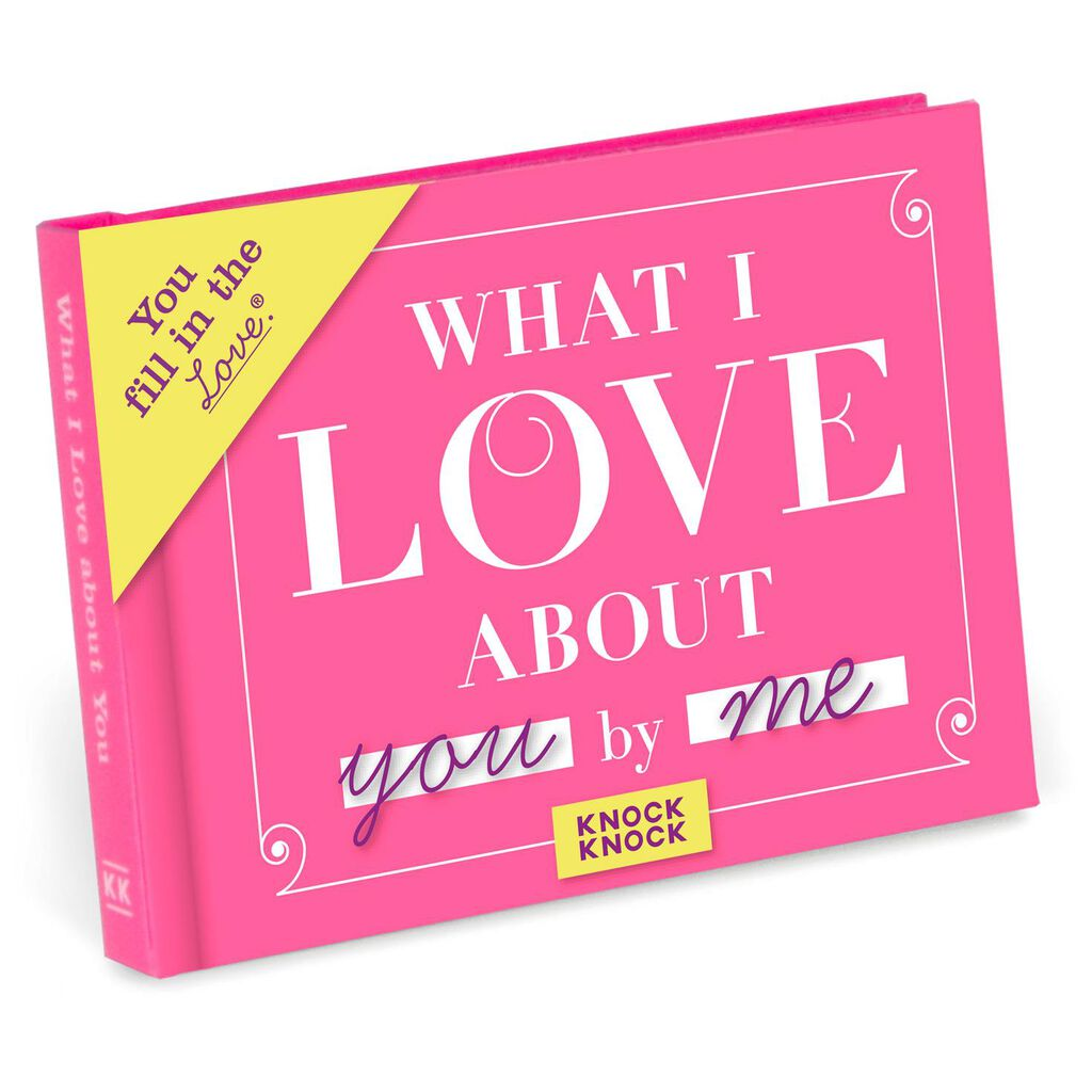 a64021034b What I Love About You Journal Book - Relationship Books - Hallmark