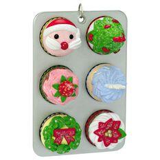 Cupcakes for Christmas! Ornament - Keepsake Ornaments ...