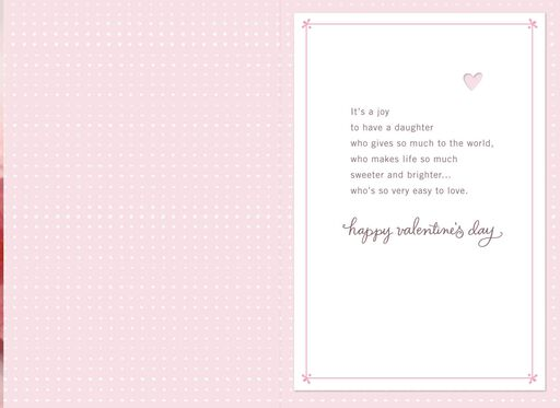 Lovable Valentine's Day Card for Daughter,