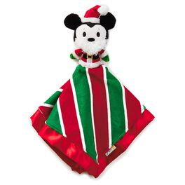 Mickey Mouse Holiday itty bittys® Baby Lovey Blanket, , large