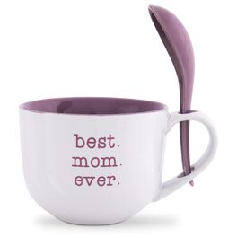 Best Mom Ever Bowl and Spoon Set, , large