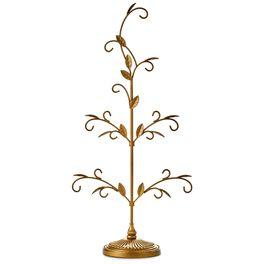 Gold Miniature Display Tree, , large