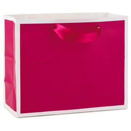 "Raspberry Medium Gift Bag, 7.75"", , large"