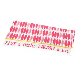 Live a Little, Laugh a Lot Tea Towel, , large