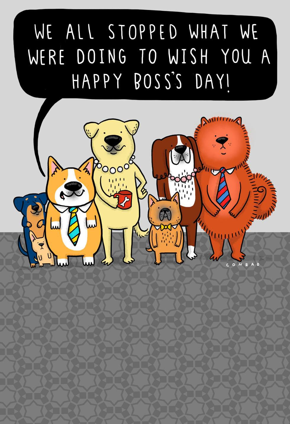 Funny Happy Boss Day Greetings Topsimages