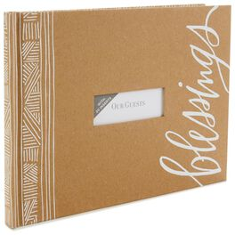 Blessings Guest Book, , large