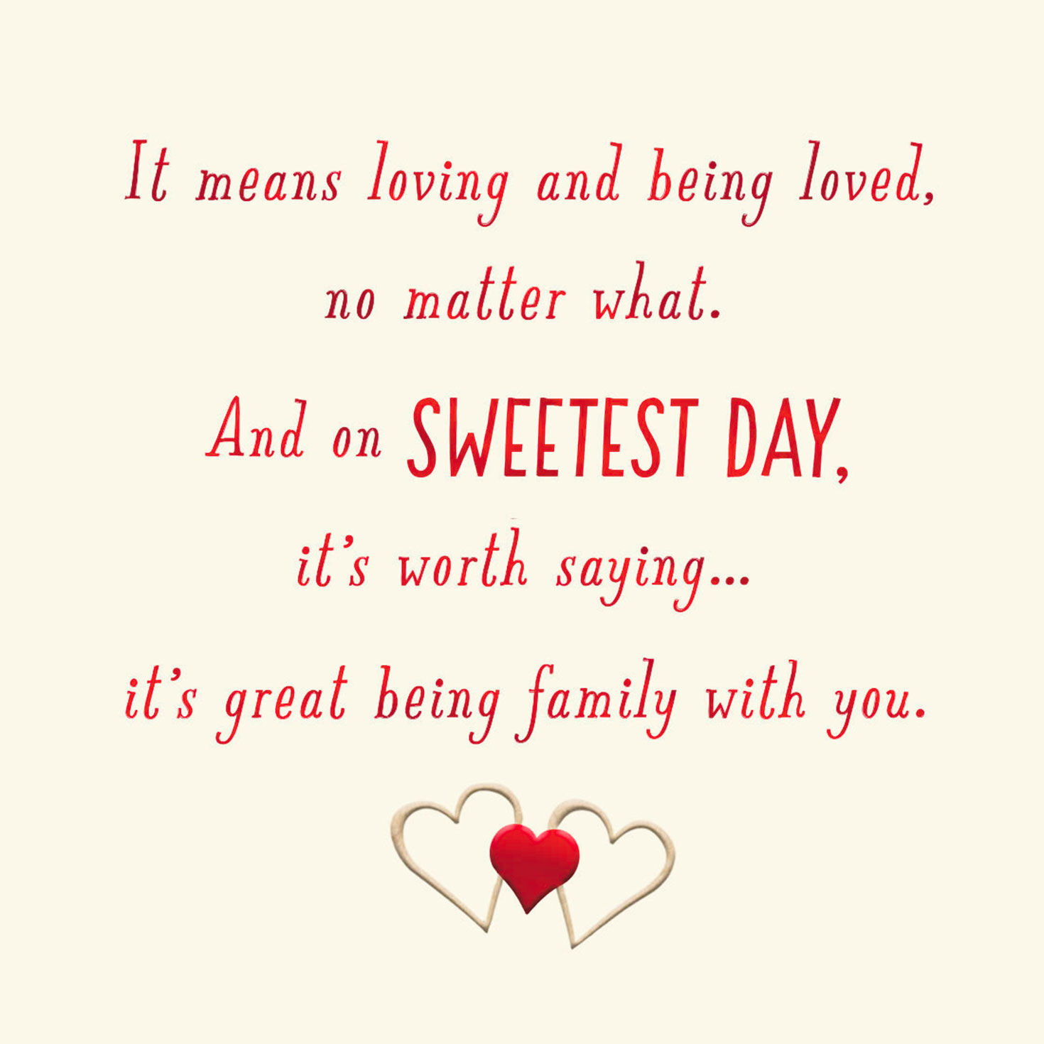 photo regarding Sweetest Day Cards Printable referred to as Sweetest Working day Playing cards Hallmark