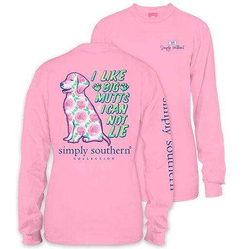 280232c8b93 Simply Southern Women s Big Mutts Long Sleeve T-Shirt