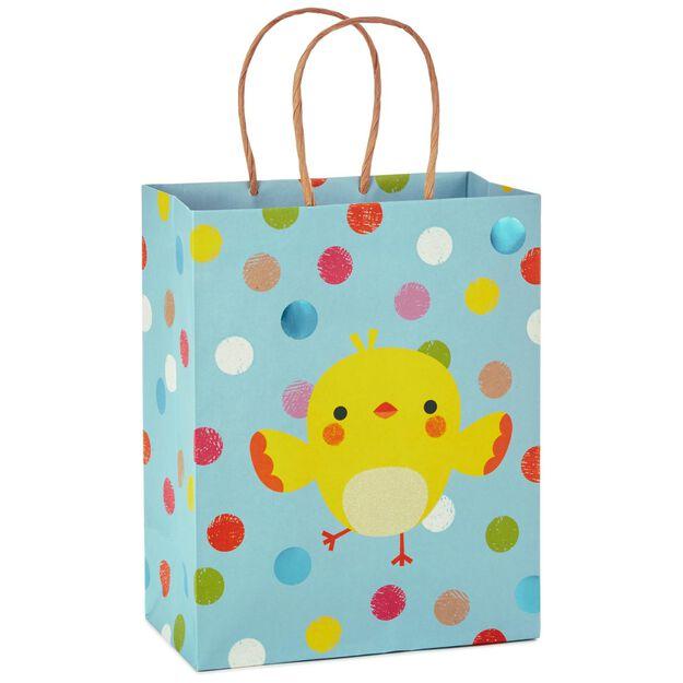 Easter chick kraft medium gift bag 96 gift bags hallmark easter chick kraft medium gift bag negle Gallery
