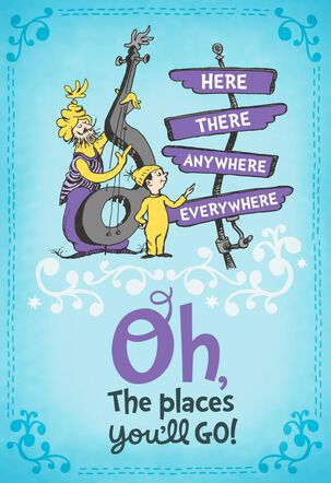 Dr. Seuss™ Oh, the Places You'll Go! Graduation Card