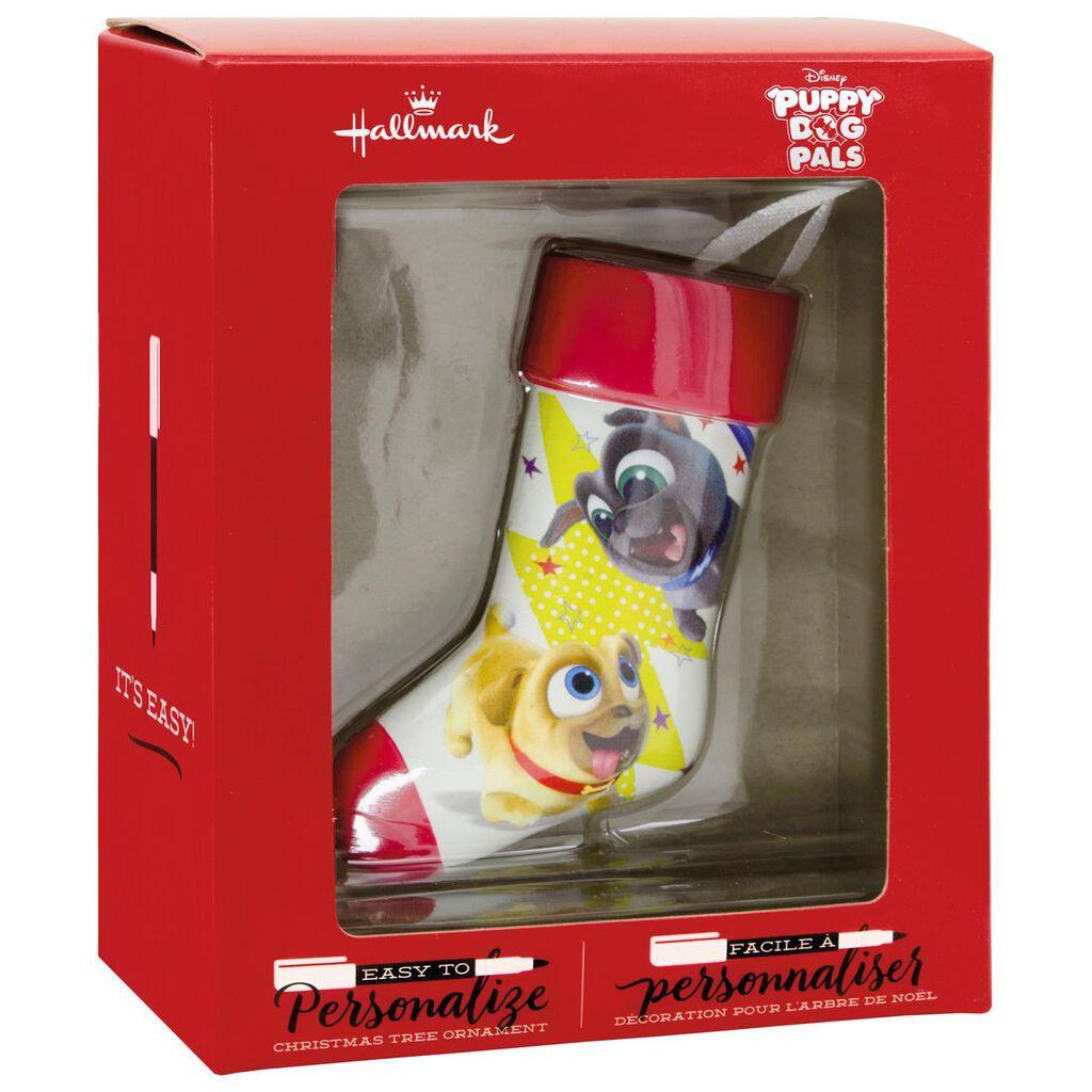 Disney Junior Puppy Dog Pals Stocking Blank Diy Personalization