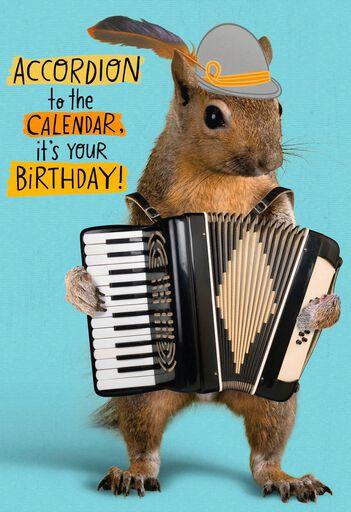 All The Fun Birthday Card