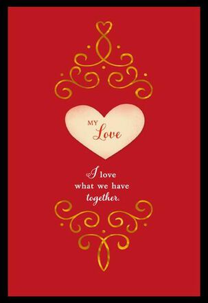 What We Have Valentine's Card
