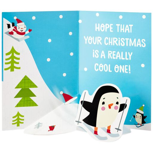 Flurry of Fun Christmas Card,