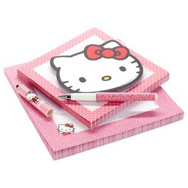 Hello Kitty® Memo Pad Set With Pen, , large