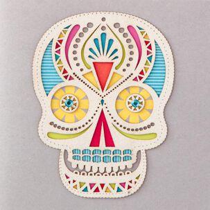 Sugar Skull Birthday Card