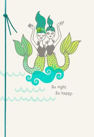 So Right, So Happy Bridal Shower Card
