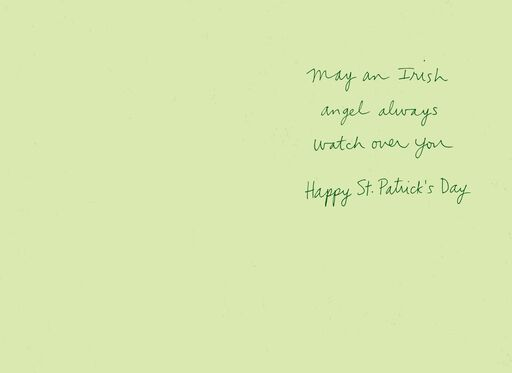 Irish Angel St. Patrick's Day Card,