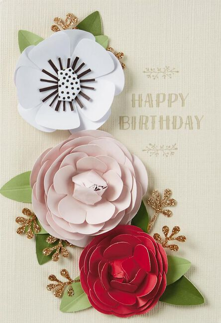 Inside And Out Beauty Birthday Card