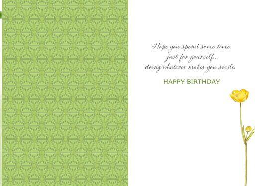 Marjolein Bastin Rest, Relax and Enjoy Birthday Card,