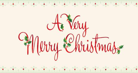 merry christmas and happy new year money holder cards