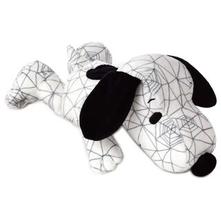 "Peanuts® Snoopy Cobweb Print Floppy Stuffed Animal, 10"","