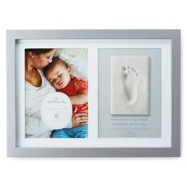 Baby's Footprint Impression Memory Picture Frame, , large