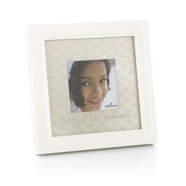 First Communion Picture Frame, 4x4, , large