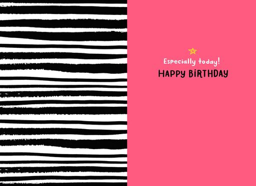 Incredible You Birthday Card,